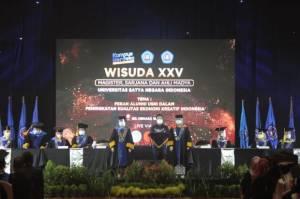 Universitas Satya Negara Indonesia Berhasil Lantik 602 Wisudawan
