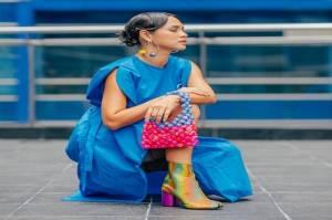 Intip Fashion Colorful ala Andien Aisyah, Styling Sendiri!