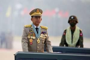 Oposisi Myanmar Senang KTT ASEAN Depak Jenderal Min Aung Hlaing