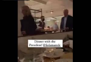 Biden dan Ibu Negara AS Tertangkap Basah Tanpa Masker di Restoran Italia