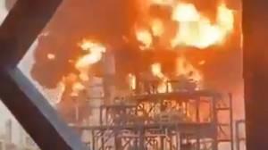 Ledakan dan Kebakaran Hancurkan Kilang Minyak Mina al-Ahmadi di Kuwait