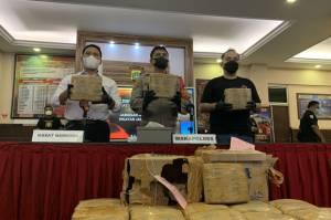 Bekuk Bandar, Polisi Gagalkan Peredaran 15 Kg Ganja Asal Sumatera