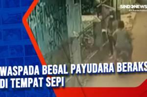 Terekam CCTV, Polisi Ringkus Begal Payudara di Cipayung