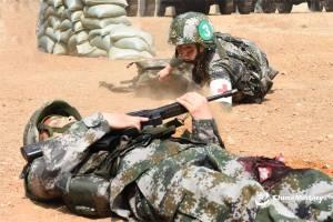 Bersiap Hadapi Situasi Perang, 300 Perawat Militer China Latihan Pendaratan di Pulau
