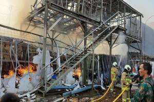 Kebakaran Pasar Kalideres Hanguskan 60 Kios, Kerugian Ditaksir Rp1 Miliar