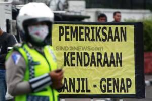 Ingat! Besok Ganjil Genap di 13 Ruas Jalan Jakarta, Mobil Berpelat Genap Dilarang Melintas