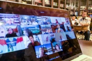 Komite II DPD Rapat Virtual dengan BNPB