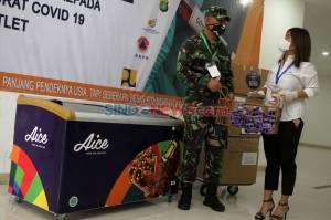 Misi Kemanusiaan Aice Group dan GP Ansor Untuk Tim Medis Covid-19