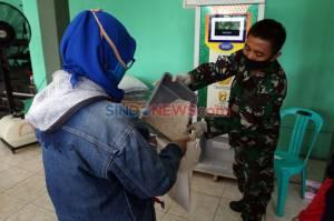 Kodim Depok Sediakan ATM Beras Gratis Untuk Warga