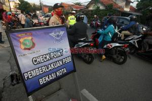 PSBB Kota Bekasi Resmi Diperpanjang