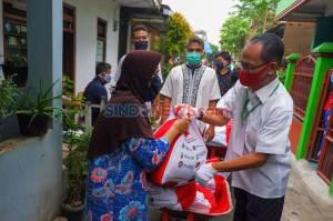 Pendistribusian Sembako Tahap 3 di Johar Baru Jakarta Pusat