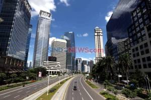 Warga Jakarta Memilih Diam di Rumah
