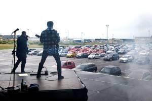 Rapper Denmark Gelar Konser Musik di Areal Parkir Bandara Kopenhagen
