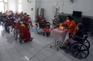Peringatan Hari Lansia di Panti Wreda Elim Semarang Berlangsung Sederhana
