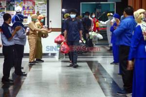 RS Husada Utama Surabaya Pulangkan 9 Pasien Sembuh COVID-19
