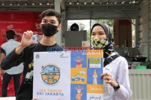 Sambut HUT ke-493 Jakarta, Hadir JakCard Edisi Khusus