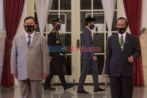 Presiden Jokowi Pimpin Upacara Virtual Peringatan Hari Bhayangkara ke-74