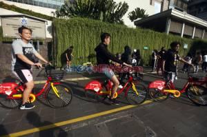 Pemprov DKI Jakarta Sediakan Layanan Sepeda Gowes