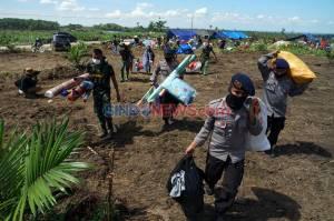 Pengungsi Korban Banjir Bandang Luwu Utara Butuh Air Bersih