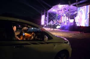 Pertama di Indonesia, Kota Semarang Gelar Konser Drive-In di Tengah Pandemi Covid-19