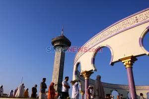 Perketat Protokol Kesehatan, Begini Suasana Salat Idul Adha di Masjid Agung Jawa Tengah