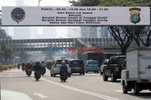 Hari Pertama Pemberlakuan Genap Ganjil di Masa PSBB Transisi
