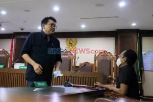 Terpidana Lucas Jalani Sidang PK Kasus Perintangan Penyidikan Perkara Eddy Sindoro