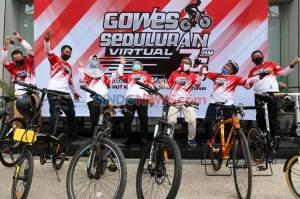 BPJamsostek Jawa Timur Gelar Gowes Seduluran Virtual