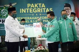 PKB Serahkan Pakta Integritas dan Formulir B1 KWK KPU
