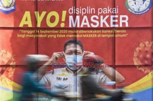 Mulai Hari Ini Pemprov NTB Berlakukan Sanksi Denda Bagi Warga yang Tidak Mengenakan Masker
