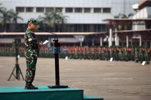 Pangdam Jaya Pimpin Gelar Pasukan Penegakan PSBB Total DKI Jakarta