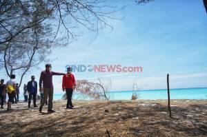Kembangkan Kawasan Ekowisata, Gubernur Sulsel Nurdin Abdullah Kunjungi Pulau Lanjukang