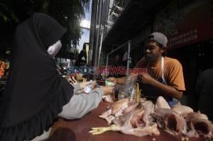 Kesadaran Penggunaan Masker di Pasar Cipete Meningkat