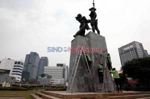 Kerugian Imbas Aksi Tolak UU Cipta Kerja di Jakarta Mencapai 65M