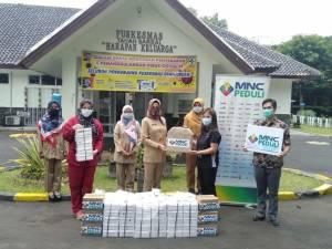 MNC Peduli Salurkan Makan Siang ke Puskesmas Tanah Sereal Bogor
