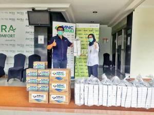 MNC Peduli Salurkan Makan Siang dan Minuman Ringan ke RS Pertamina Jaya