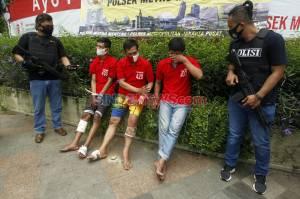 Berusaha Kabur, Penjambret Ponsel Milik Pesepeda di Menteng Ditembak Polisi