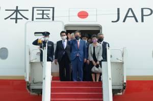 PM Jepang Yoshihide Suga Lakukan Kunjungan Perdana ke Indonesia