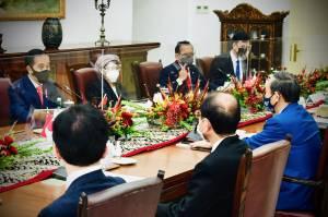 Presiden Jokowi Terima Kunjungan Kenegaraan PM Jepang Yoshihide Suga