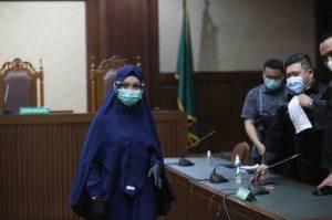 Jaksa Pinangki Jalani Sidang Lanjutan di Pengadilan Tipikor Jakarta