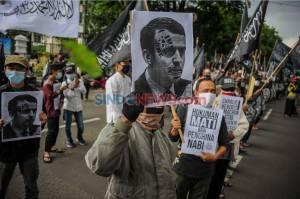 Aksi Damai Bela Nabi di Bandung