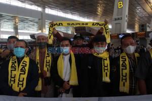 Ratusan Jamaah Umrah Berangkat Perdana dari Bandara Soekarno Hatta