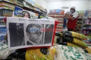 Aksi Boikot Produk Prancis Tetap Berlanjut