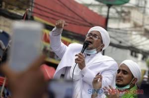 Bersama Pendukungnya di Petamburan, Habib Rizieq Shihab Doakan Indonesia Terbebas dari Covid-19