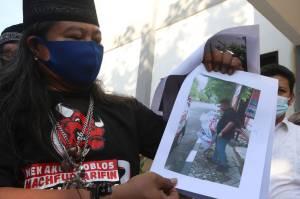 Banteng Ketaton Laporkan Perusak APK Dukungan untuk Machfud Arifin-Mujiaman