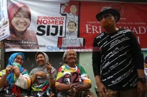 Cawalkot Surabaya Machfud Arifin Tebar Pesona Keluar Masuk Perkampungan