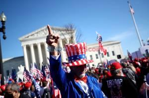 Pendukung Trump Kembali Gelar Aksi Menolak Hasil Pilpres AS di Washington