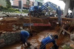 Kawasan Rawan Banjir, Jalan Boulevard Raya Kelapa Gading Dibangun Kolakan