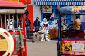 India Catat 45 Ribu Kasus Harian Baru Virus Corona