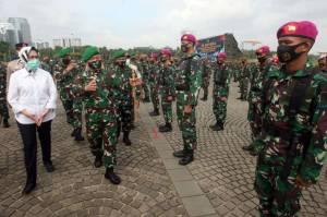Pangdam Jaya Pimpin Apel Gelar Pasukan Pengamanan Pilkada di Monas